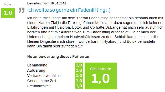 Fadenlifting